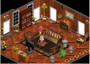 Le Brown Livingroom