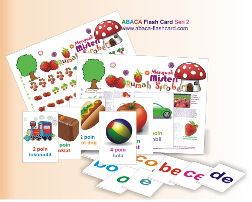 ABACA Flash Card Seri 2