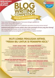 Blog Competition Nutrisi untuk Bangsa