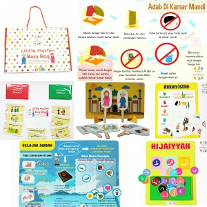 Little Muslim Busy Bag